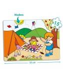 Set puzzles zaro aire libre (4 uds)