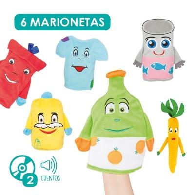 Marionetas: la vida del reciclado