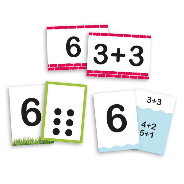 Descubre los números y su descomposición