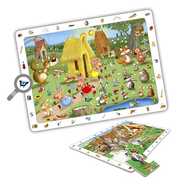 Set puzzles observación - cuentos...