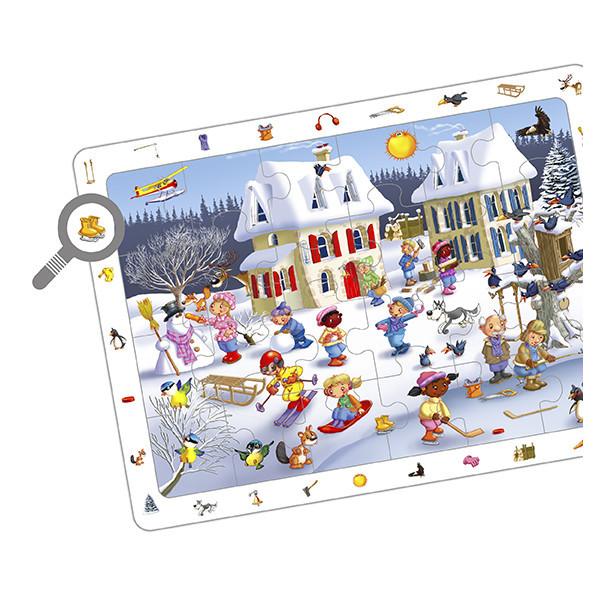 Set puzzles observación - las 4...