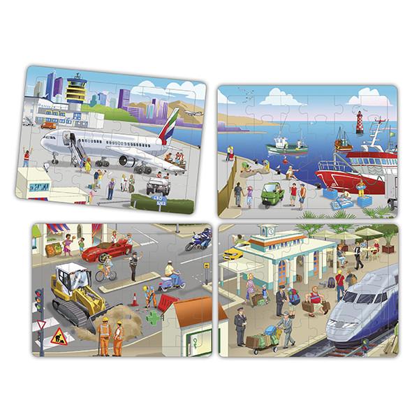 Set puzzles cooperativos - la ciudad...