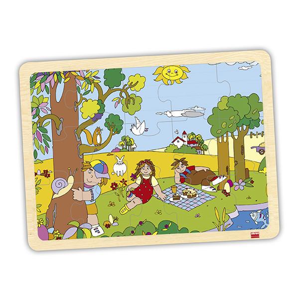 Set puzzles las 4 estaciones (4 uds)