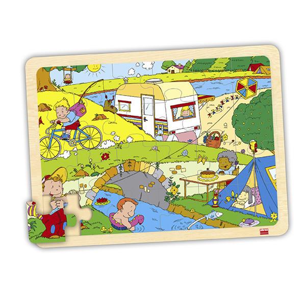 Set puzzles tiempo libre (4 uds)