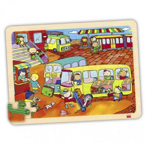 Set puzzles transportes (4...
