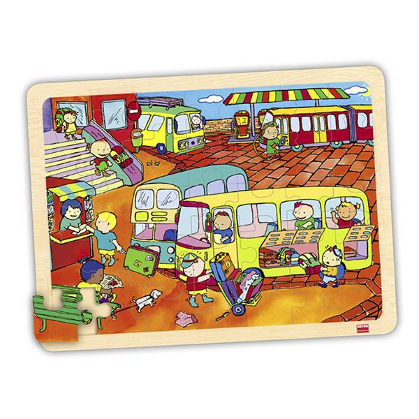 Set puzzles transportes (4 uds)