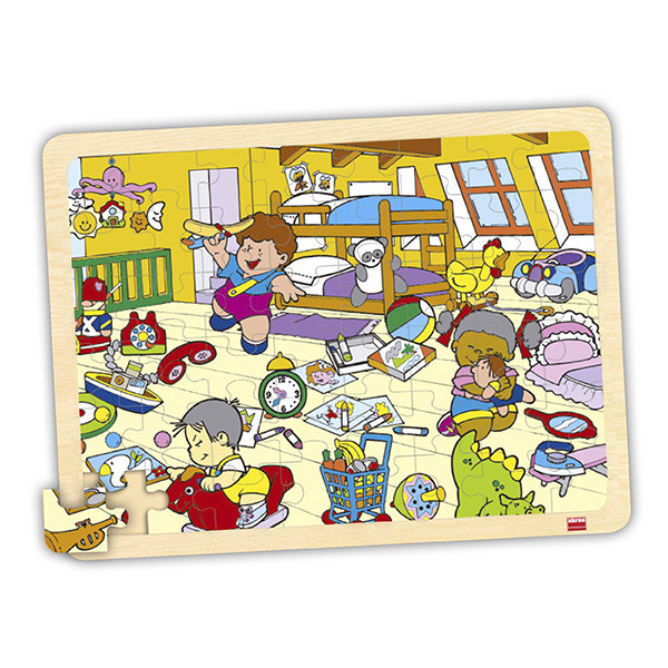 Set puzzles lugares (4 uds)