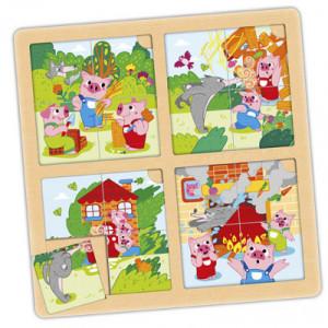 Set puzzle-secuencias: Los...