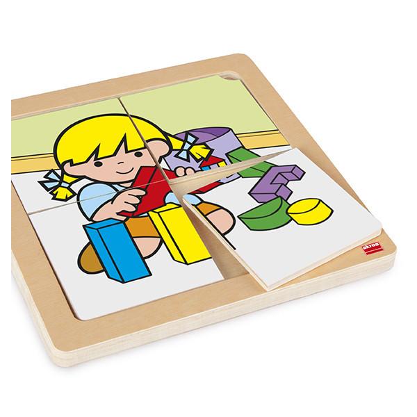 Set puzzles Zaro y Nita 4 piezas (4 uds)