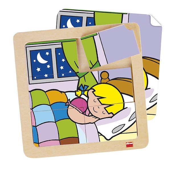 Set puzzles Zaro y Nita 6 piezas (4 uds)
