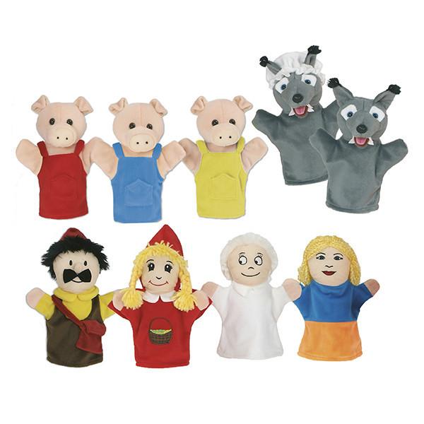 Marionetas: Caperucita roja y Los...