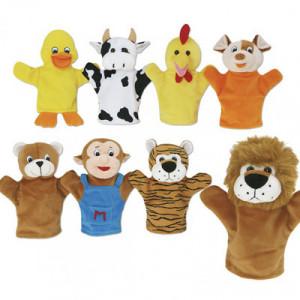 Marionetas: El mago mico y...