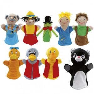 Marionetas: Pinocho y El...