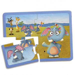 Set puzzles animales (9 uds)