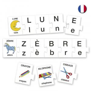 Busca las letras en francés