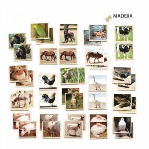 Memory: animales granja