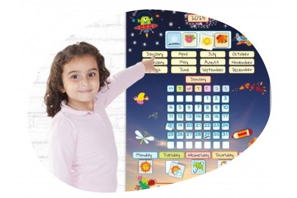 ▷ Calendarios y Paneles Educativos - Pizarras Didácticas